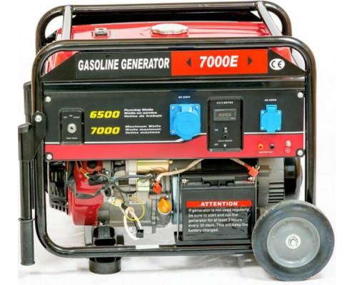 Генератор Weima WM7000E (1 фаза, бензин, 6.5 кВт)