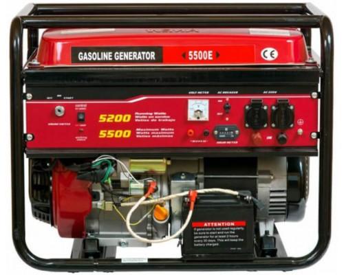 Генератор Weima WM5500Е (1 фаза, бензин, 5.5 кВт)